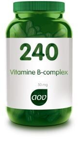 240 Vitamine B complex 50 mg - 60 Capsules AOV
