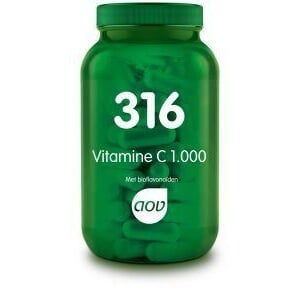 316 Vitamine-C 1000mg Bioflavonoiden 50mg - 180 tabletten AOV