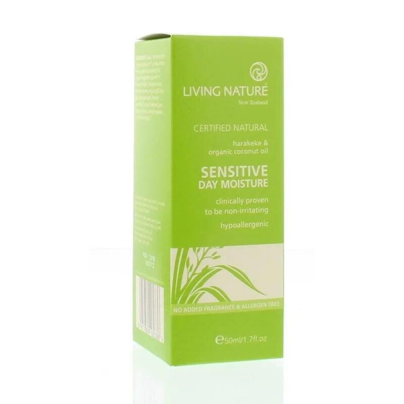 Dagcreme voor de gevoelige huid (parfumvrij) - 50 ml Living Nature