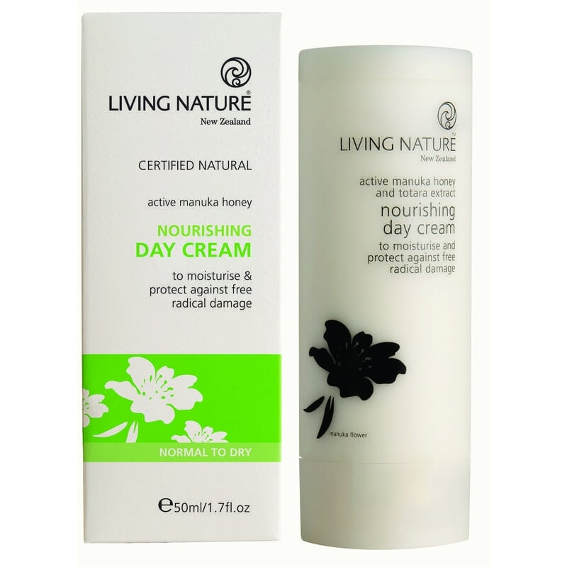 Anti-oxidant Dagcreme met Manuka Honing - 50 ml Living Nature