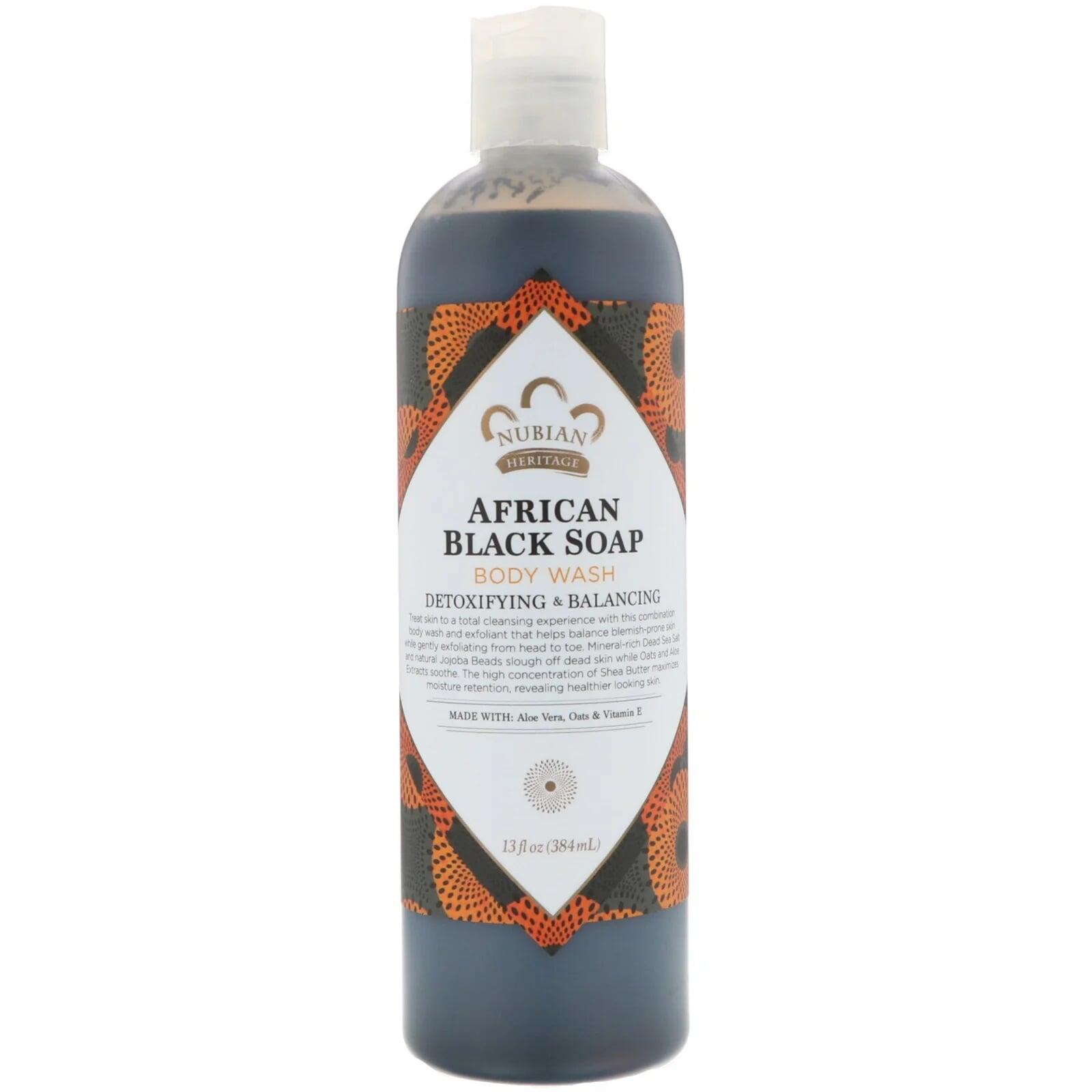 Body Wash, African Black Soap - 384 ml Nubian Heritage