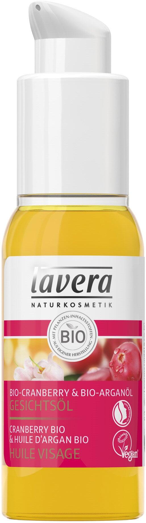 Facial Oil Cranberry & Argan Oil (Droge Huid) - 30ml Lavera